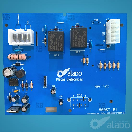 CONTROLE COMPAT. BRM35/41 AB CRM35/38 AB - W10314622/326059371 - 220V 60Hz