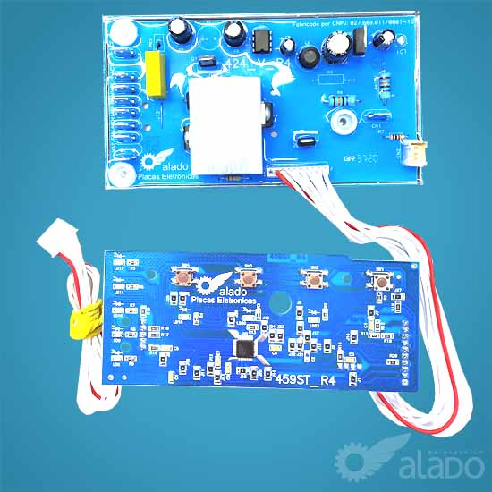 KIT COMPAT. CWL10B CWL75A - W10344774/326057062  (INTERFACE + PLACA DE POTÊNCIA)