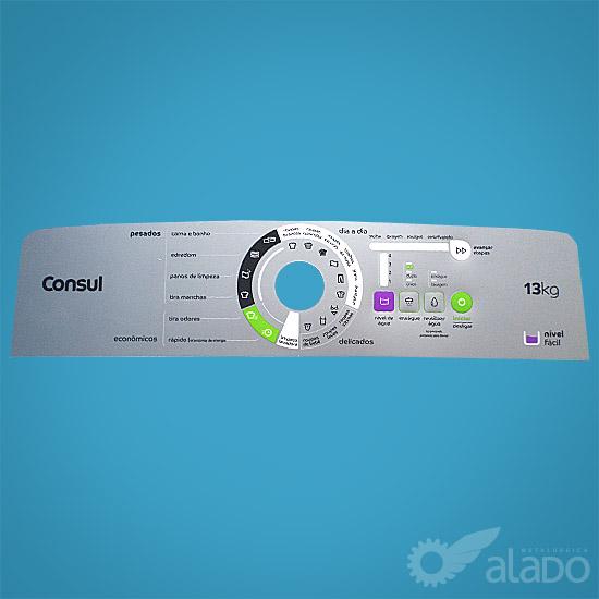 PAINEL DEC. COMPAT. VWE 13 A/B BRANCA/PRATA NIVEL FACIL - MAXI ECONOMICA - 5141729