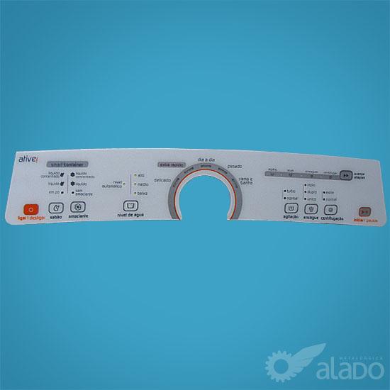 PAINEL DEC. COMPAT. BWU 11 A/B BRANCA - W10463579